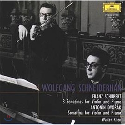 Wolfgang Schneiderhan 슈베르트: 바이올린 소나타 1, 2, 3번 / 드보르작: 소나티네 (Schubert : Violin Sonatas No.1, 2, 3 / Dvorak : Sonatine)