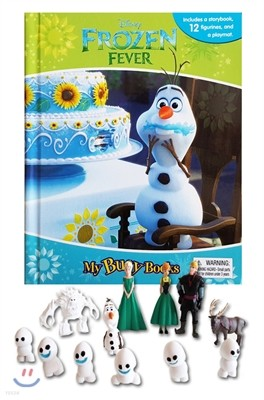 Disney Frozen Fever / Olaf My Busy Book 디즈니 겨울왕국 / 올라프 비지북 피규어책
