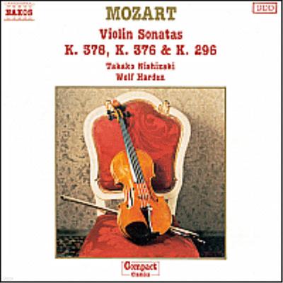 모차르트 : 바이올린 소나타 17, 24, 26번 (Mozart : Violin Sonatas No.17 K.296, 24 K.376, 26 K.378) - Takako Nishizaki