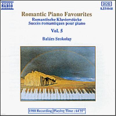 로맨틱 피아노 유명작품 5집 (Romantic Piano Favourites, Vol.5) - Balazs Szokolay