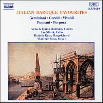 유명 이탈리아 바로크 작품집 (Italian Baroque Favourites) - Anna Holbling