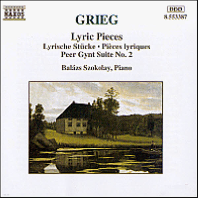 그리그 : 서정 소곡, 페르귄트 조곡 (Grieg : Lyric Pieces & Peer Gynt Suite No. 2) - Balazs Szokolay