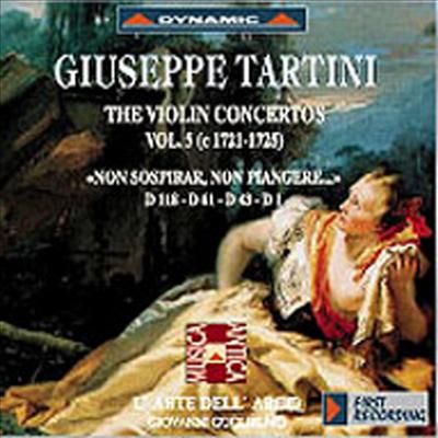 타르티니 : 바이올린 협주곡 (Tartini : Violin Concertos, Vol. 5) - Giovanni Guglielmo
