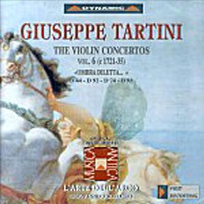 타르티니 : 바이올린 협주곡 (Tartini : Violin Concertos, Vol. 6) - Giovanni Guglielmo
