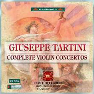 타르티니: 바이올린 협주곡 전곡집 (Tartini: Complete Violin Concertos) (29CD Boxset) - Giovanni Guglielmo