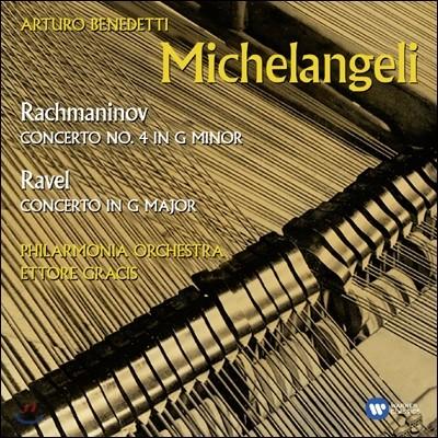 Arturo Benedetti Michelangeli 라벨 / 라흐마니노프: 피아노 협주곡 (Ravel / Rachmaninov: Piano Concertos)