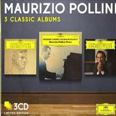 마우리치오 폴리니 - 쇼팽 3개의 클래식 앨범 (Maurizio Pollini - Chopin 3 Album Classics) (3CD) - Maurizio Pollini