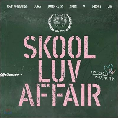 방탄소년단 (BTS) / Skool Luv Affair (2nd Mini Album/미개봉)
