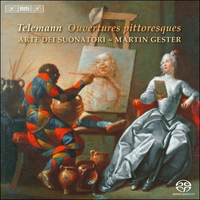 Martin Gester 텔레만: 서곡  (Telemann: Ouvertures pittoresques)