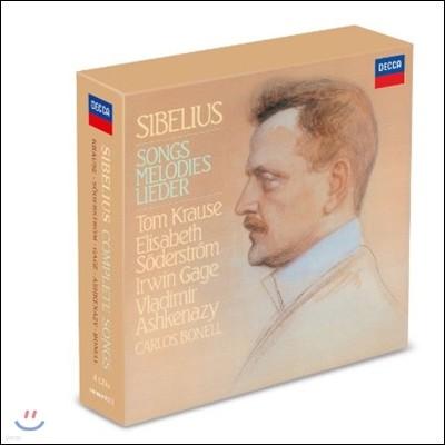 Tom Krause / Elisabeth Soderstrom 시벨리우스 가곡 전집 (Sibelius: Complete Songs)