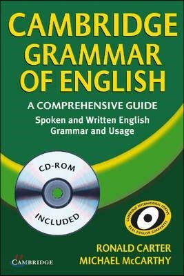 Cambridge Grammar of English Paperback: A Comprehensive Guide [With CDROM]