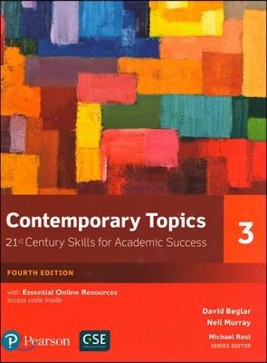 Contemporary Topics 3, 4/E (Online Resources)