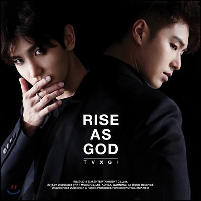 동방신기 (東方神起) - 스페셜 앨범 : Rise As God [Black/White Ver. 중 1종 랜덤 발송]