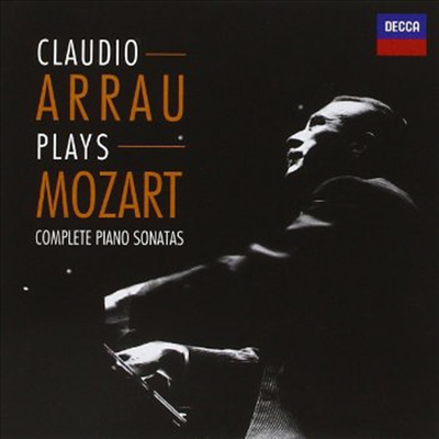 모차르트: 피아노 소나타 1-18번, 론도, 환상곡 (Mozart: Complete Piano Sonatas) (6CD Boxset) - Claudio Arrau