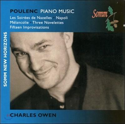 Charles Owen 풀랑크: 피아노 모음곡, 나폴리 모음곡, 멜랑콜리, 노벨레테, 즉흥곡 (Poulenc: Piano Music)