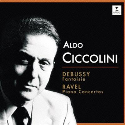 드뷔시, 라벨: 피아노 협주곡 (Debussy, Ravel: Piano Concertos) (일본반) - Aldo Ciccolini