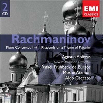 Agustin Anievas 라흐마니노프: 피아노 협주곡, 파가니니 랩소디 (Rachmaninov : Piano Concerto)