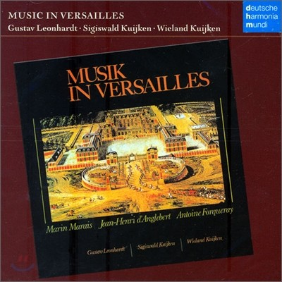 Music In Versailles : Sigiswand & Wieland KuijkenㆍGustav Leonhardt
