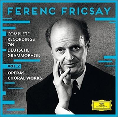 Ferenc Fricsay 페렌츠 프리차이 DG 전집 Vol. 2 - 오페라와 합창 작품집 (Complete Recordings on DG Vol 2 - Vocal Works)