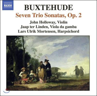 John Holloway 북스테후테: 실내악 작품 2집 - 트리오 소나타 (Buxtehude: 7 Trio Sonata op.2)