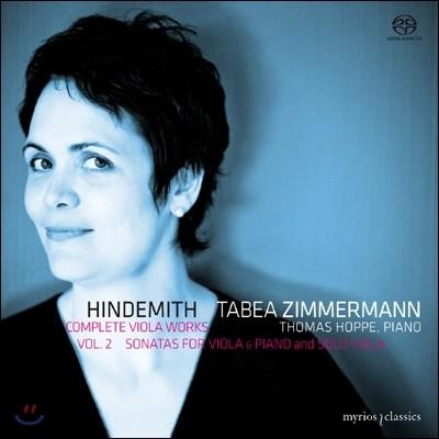 Tabea Zimmermann 힌데미트: 비올라 작품 전곡 2집 (Hindemith: Complete Viola Works Volume 2)