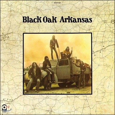 Black Oak Arkansas (블랙 오크 아칸사스) - Black Oak Arkansas [LP]