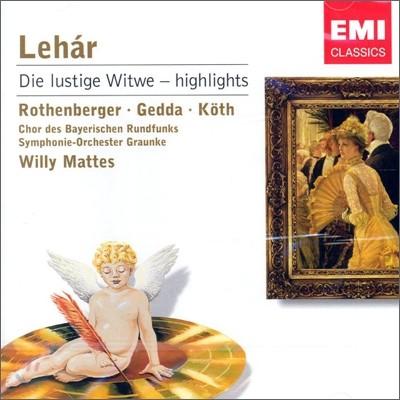 Lehar : Die Lustige Witwe : Mattes