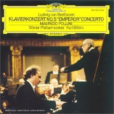 Maurizio Pollini / Karl Bohm 베토벤: 피아노 협주곡 5번 `황제` (Beethoven: Piano Concerto No. 5 in E flat major, Op. 73 'Emperor')