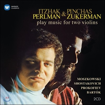 Itzhak Perlman 이차크 펄만 20집 - 모슈코프스키 / 쇼스타코비치 / 프로코피에프 / 바르톡: 두 대의 바이올린을 위한 작품 (Moszkowski / Shostakovich / Prokofiev / Bartok)