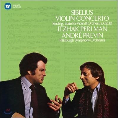 Itzhak Perlman 이차크 펄만 21집 - 시벨리우스: 바이올린 협주곡 / 신딩: 모음곡 (Sibelius: Violin Concerto)