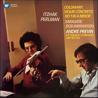 Itzhak Perlman / Andre Previn 이차크 펄만 17집 - 골드마르크: 바이올린 협주곡 1번 / 사라사테: 지고이네르바이젠 (1977) (Goldmark: Violin Concerto No.1 / Sarasate: Zigeunerweisen)