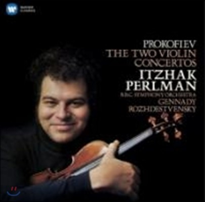 Itzhak Perlman / Gennady Rozhdestvensky 이차크 펄만 29집 - 프로코피에프: 바이올린 협주곡 (1982) (Prokofiev: The Two Violin Concertos)