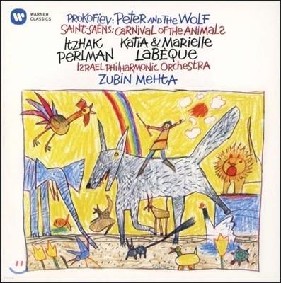 Itzhak Perlman 이차크 펄만 59집 - 프로코피에프: 피터와 늑대 / 생상스: 동물의 사육제 (Prokofiev: Peter and the wolf / Saint-Saens: Carnival of the Animal)