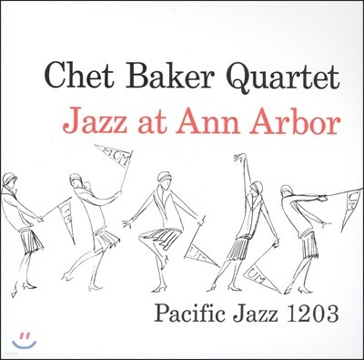 Chet Baker (쳇 베이커) - Jazz at Ann Arbor [LP]