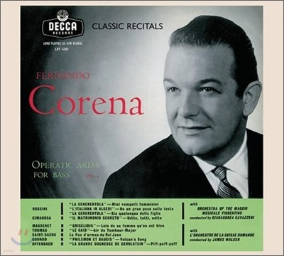 Fernando Corena - Operatic Arias For Bass Vol.2