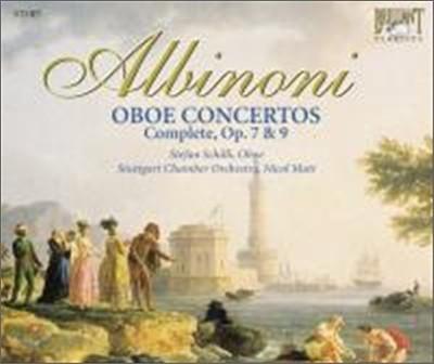 Albinoni : Oboe Concerto (Complete)