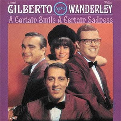Astrud Gilberto & Walter Wanderley - A Certain Smile A Certain Sadness (Ltd. Ed)(Bonus Tracks)(SHM-CD)(일본반)