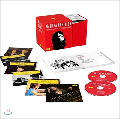 Martha Argerich 마르타 아르헤리치 DG, Philips 전곡집 (The Complete Recordings On Deutsche Grammophon) [48CD]