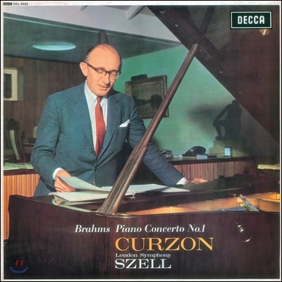 Clifford Curzon / George Szell 브람스: 피아노 협주곡 1번 (Brahms: Piano Concerto No.1 Op.15)