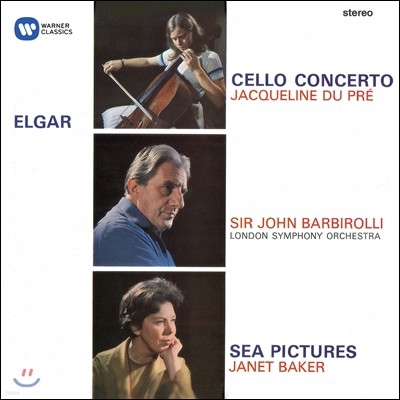 Jacqueline du Pre / John Barbirolli 엘가: 첼로 협주곡, 바다 풍경 - 재클린 뒤 프레 (Elgar: Cello Concerto, Sea Pictures)