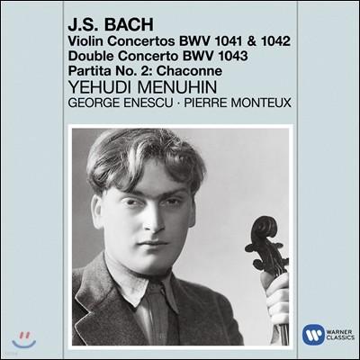 Yehudi Menuhin 바흐: 바이올린 협주곡, 샤콘느 - 예후디 메뉴인 (Bach: Violin Concertos, Chaconne)