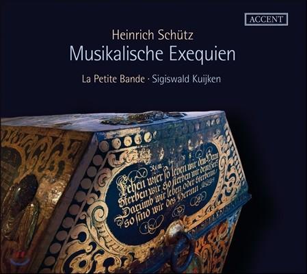 Sigiswald Kuijken 쉬츠: '장송음악' (무지칼리셰 엑제크비엔) (Schutz: 'Musikalische Exequien')