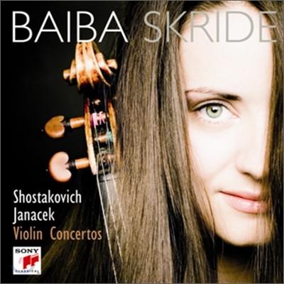 쇼스타코비치 / 야나체크 : 바이올린 협주곡 - 바이바 스크라이드