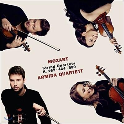 Armida Quartett  모차르트: 현악사중주 9번, 18번, 22번 (Mozart: String Quartets No. 9, No. 18, No. 22)
