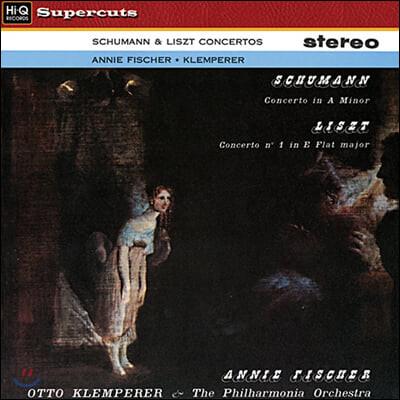 Annie Fischer 슈만 / 리스트: 피아노 협주곡 - 아니 피셔 [LP]