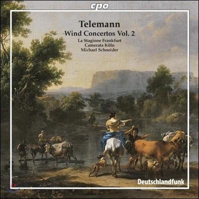 Michael Schneider 텔레만: 관악 협주곡 2집 (Telemann: Wind Concertos Volume 2)