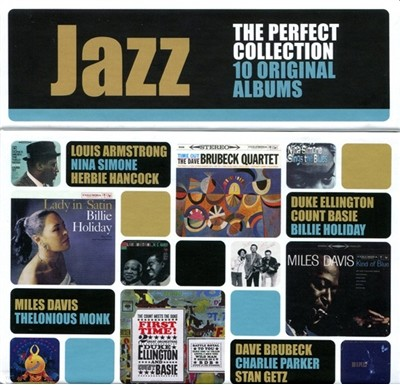 The Perfect Jazz Collection (퍼펙트 재즈 컬렉션): 10 Original Albums Vol. 1