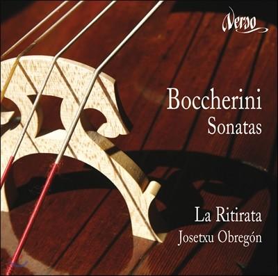 La Ritirata 보케리니: 네 개의 첼로 소나타 (Boccherini: Sonatas for cello and bass)