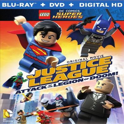 LEGO DC Super Heroes: Justice League: Attack of the Legion of Doom! (레고 슈퍼 히어로즈 : 저스티스 리그)(한글무자막)(Blu-ray)