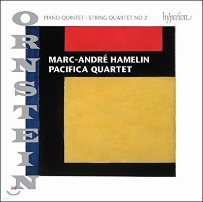 Pacifica Quartet / Marc-Andre Hamelin 레오 온스타인: 피아노 오중주, 현악 사중주 2번 (Leo Ornstein: Piano Quintet Op.92, String Quartet No. 2)